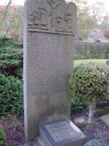 Old Tombstone Gerdt & Wilhelm Hobbie