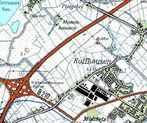 Estate name in  Roffhausen (TK50-1998)